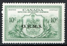 Canada 1950 Servizii Y.T.S15 MNH/** VF/F - Servizi