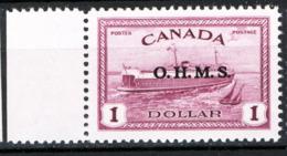 Canada 1950 Servizii Y.T.S7 MNH/** VF/F - Servizi