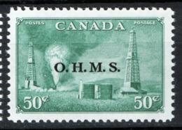 Canada 1950 Servizii Y.T.S13 MNH/** VF/F - Servizi