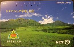 Telefonkarte Japan - Landschaft - 391-200 - Japan