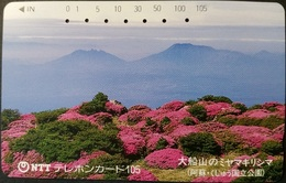 Telefonkarte Japan - Landschaft - 390-260 - Japan