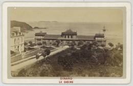 CDV Circa 1880 Ordinaire . Dinard . Le Casino . - Photos