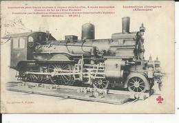 Allemagne   Locomotive    No212 - Chemins De Fer