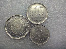 Argentina  5 - 25 Pesos  1965 - Argentine