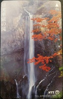 Telefonkarte Japan - Landschaft - Wasserfall - 250-343 - Japan