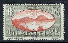 Guadeloupe, Iles Des Saintes, 65c., 1928, VFU Postmark From Grand-Bourg - Guadeloupe (1884-1947)