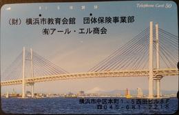 Telefonkarte Japan - Brücke , Bridge - 110-237 - Japan