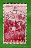 Italia °- 1959 - Guerra D'Indipendenza.  Unif. 870.  Vedi Descrizione. - 1946-.. République