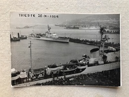 TRIESTE CARTOLINA FOTOGRAFICA        1954 - Trieste
