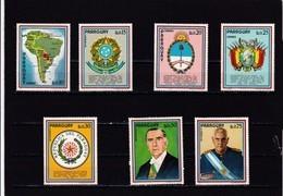 Paraguay Nº 1239 Al 1245 - Paraguay