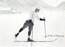 74 -CHAMONIX -- 'Le SKI à Chamonix' ;édit: ? -. - Chamonix-Mont-Blanc