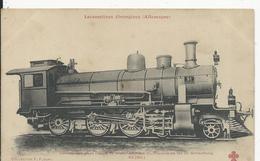 Allemagne   Locomotive    No42 - Railway