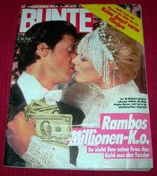Sylvester Stallone Brigitte Nielsen - BUNTE - German July 1987 RARE - Magazines & Newspapers