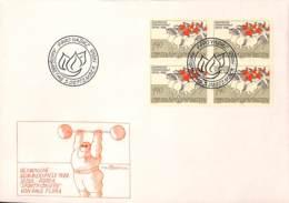 D - [407999]Liechtenstein 1980 -  Sports, Chevaux, Haltérophilie - Chevaux