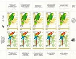 Venezuela Nº 1644 Al 1645 En Hoja De 5 Series - Venezuela