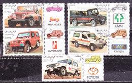 Sahara Occidentale 1992-Automobili  Serie  Usata - Sahara Spagnolo
