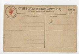 MARSEILLE -13 - Carte Postale Du SAVON GRAPPE D'OR - A. Jounet Fabricant - Autres