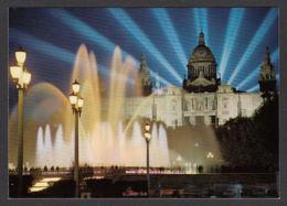 62388/ BARCELONA, Fuente Luminosa Y Palacio Nacional - Barcelona