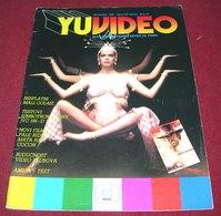 Sylvia Kristel Mata Hari YU VIDEO Yugoslavian November 1985 Very Rare - Livres, BD, Revues