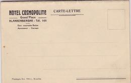 Blankenberghe, Hotel Cosmopolite. - Blankenberge