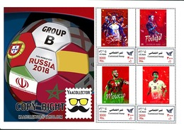 Iran Personalized Sheet 8 Groups World Cup 2018 Russia - 2018 – Russland