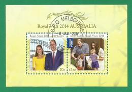 Australien 2014  Mi.Nr. Sheet 217 (4141/42) , Australia Royal - CTO  Gestempelt / Fine Used / (o) - - 2010-... Elizabeth II