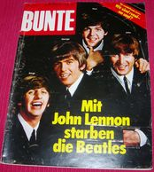 The Beatles - BUNTE - German December 1980 RARE - Magazines & Newspapers