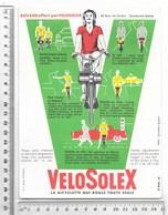 BUVARD VELOSOLEX La Bicyclette Qui Roule Toute Seule - Moto & Vélo
