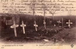 59. LA GUERRE DANS LE NORD.  Tombes D'allemands Dans Un Jardin.  1915. - Otros