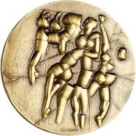ESPAÑA. MEDALLA F.N.M.T. TITULADA FUTURO. 1.983. BRONCE. ESPAGNE. SPAIN MEDAL - Profesionales/De Sociedad