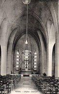 ROISEL  L'église Intérieur - Roisel