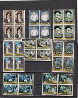 España Nº 2481 Al 2488 En Bloque De Cuatro - 1971-80 Nuevos & Fijasellos