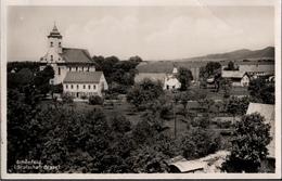 ! Fotokarte, Schönfeld Grafschaft Glatz, Kirche - Schlesien
