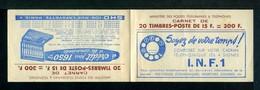 Carnet GANDON N° 886 - Couverture Vide -  Série INF-1- Nombreux Thèmes. - Carnets