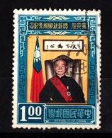 China,1967- President Chiang Kai-Shek. CancelledNH. - Oblitérés