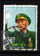 China,1966- President Chiang Kai-Shek. CancelledNH. - Oblitérés
