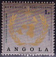 Angola, 1973 - Centenário OMI-OMM / MNH** - Angola