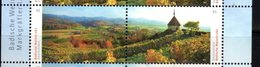 GERMANY, 2017, MNH, BEAUTIFUL GERMANY,WINE COUNTRY, VINES,  VIEWS,2v - Geography