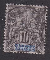 Diego-Suarez, Scott #29, Used, Navigation And Commerce, Issued 1892 - Diego-suarez (1890-1898)