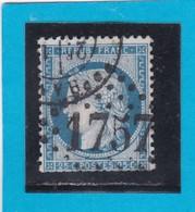 CERES N° 60 C   GC 1757 + Cachet à Date  HAM  / 76- SOMME  - REF ACDIV - Marcophilie (Timbres Détachés)
