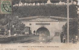 CPA Riqueval - Le Grand Souterrain - Sortie De La Rame (avec Animation) - France