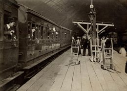 PHOTOGRAPH  Fonds Victor FORBIN (1864-1947) - Trenes