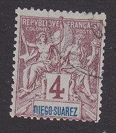 Diego-Suarez, Scott #40, Used, Navigation And Commerce, Issued 1894 - Diego-suarez (1890-1898)