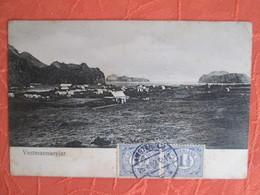 Vestmannaeyjar . Dos 1900 - Islande