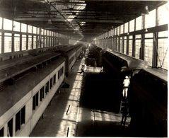CONSTRUCTION SLEEPING CARS CANADIAN NATIONAL RAILWAYS  PHOTOGRAPH  Fonds Victor FORBIN (1864-1947) - Trenes