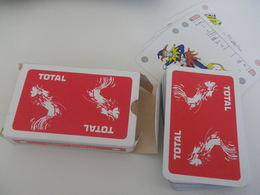 Jeu De 52 Cartes à Jouer - TOTAL - Coq - 54 Cards