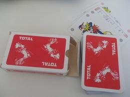Jeu De 52 Cartes à Jouer - TOTAL - Coq - 54 Cartes