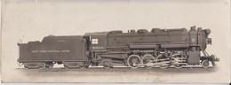 NEW YORK CENTRAL LINES 8000  HARDCOPY Fonds Victor FORBIN (1864-1947) - Trenes