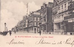 Blankenberge Blankenberghe La Digue Et Les Villas (Ouest) - Blankenberge