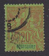 Diego-Suarez, Scott #44, Used, Navigation And Commerce, Issued 1894 - Diego-suarez (1890-1898)